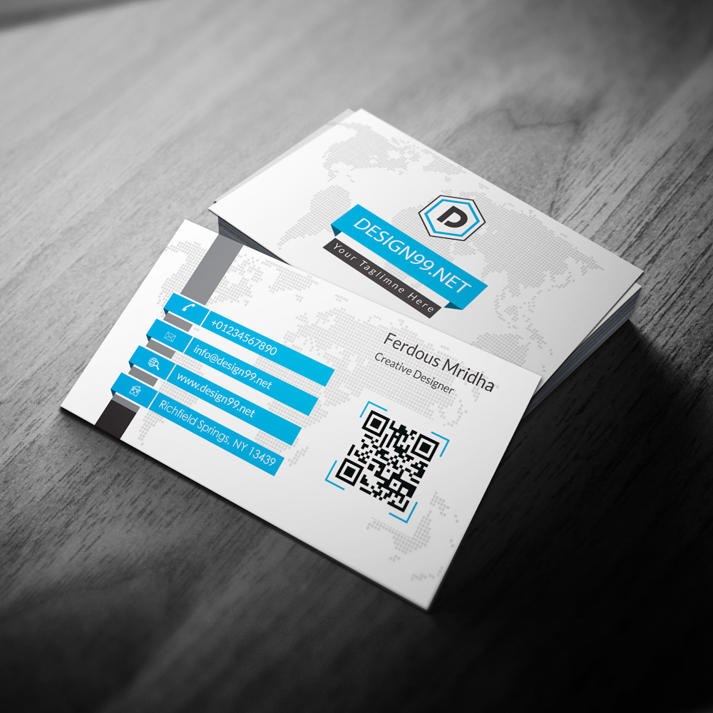 Minimal business card design99 in available creative printing business card 01 colourmoves