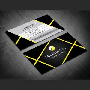 Free Black Business Card, black business card, black business design