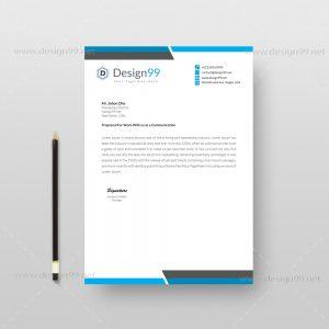 Letterhead Pad, Letterhead Pad Design