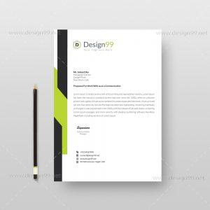 letterhead pad, letterhead pad design, business pad, pad download
