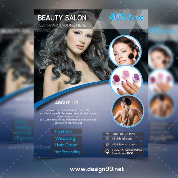 Beauty Parlor Flyer, free beauty salon flyer, parlour flyer, parlor flyer, hair salon flyer